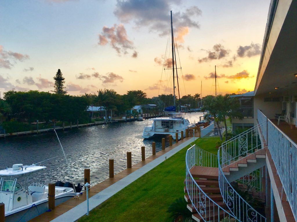 Ft. Lauderdale Waterway Sunset